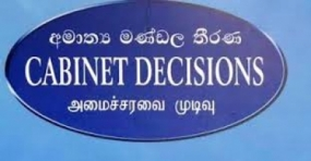 Image result for cabinet decisions