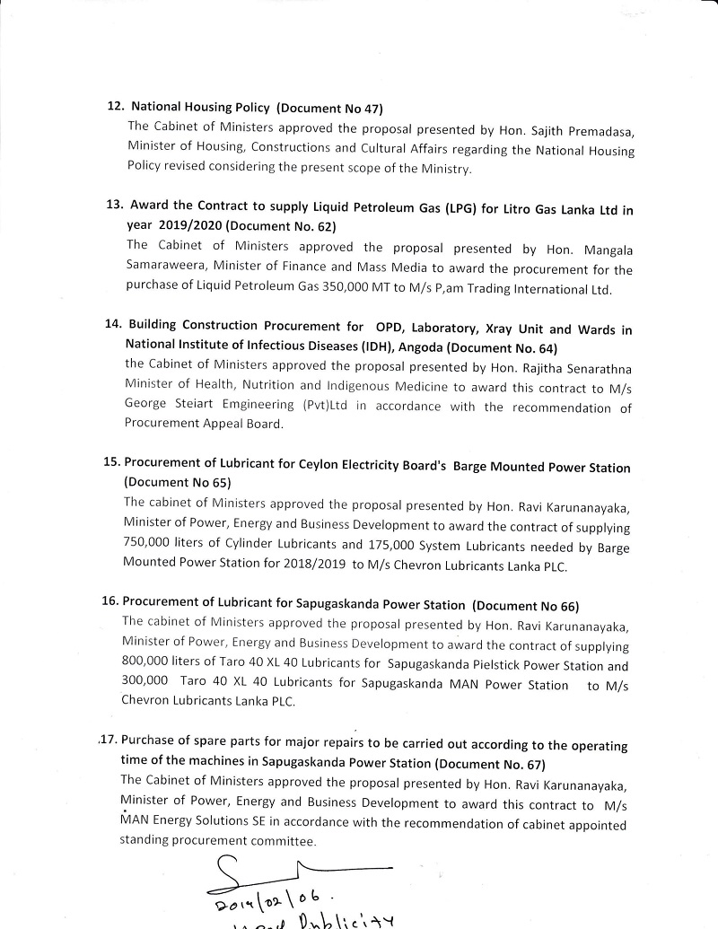 Cabinet Decision on 05.02.2019 English 3