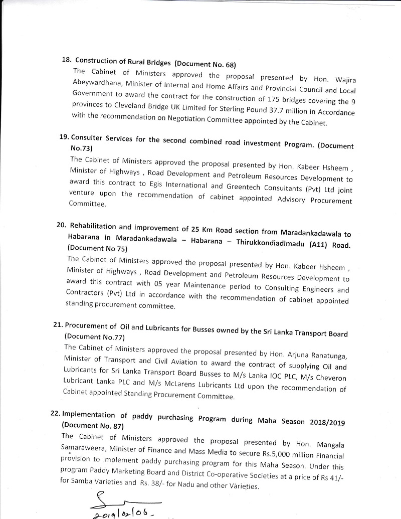Cabinet Decision on 05.02.2019 English 4
