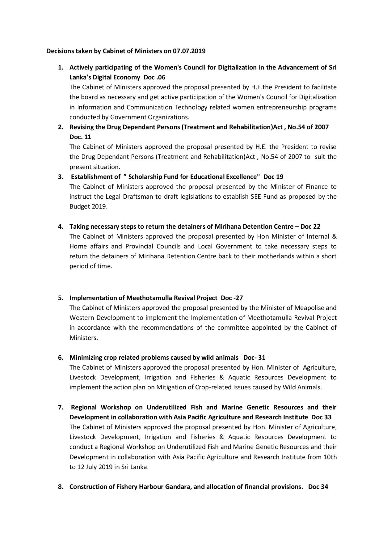 Cabinet Decision on 07.07.2019 English converted page 001