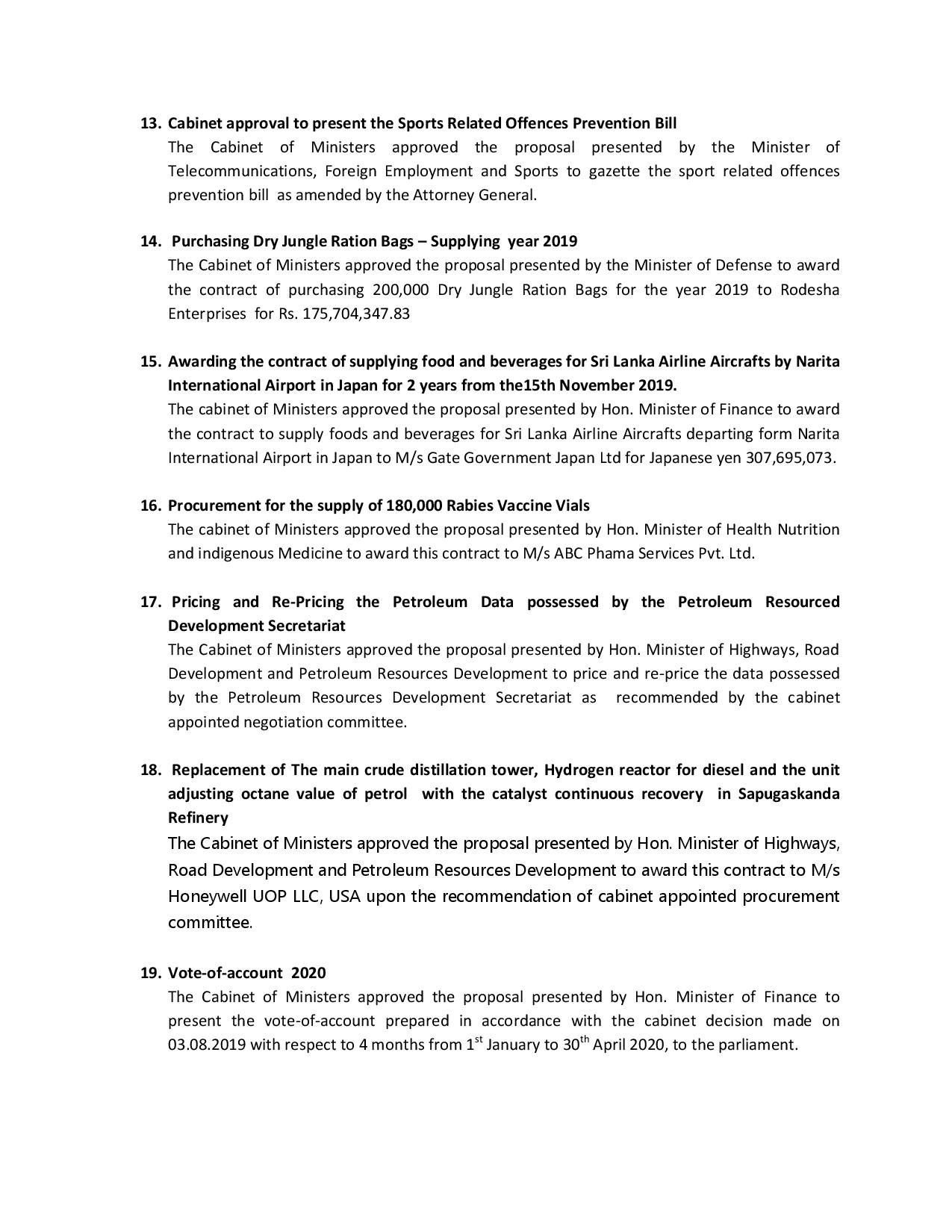Decisions Taken by Cabinet of Ministers on theE 01.10.2019 page 003