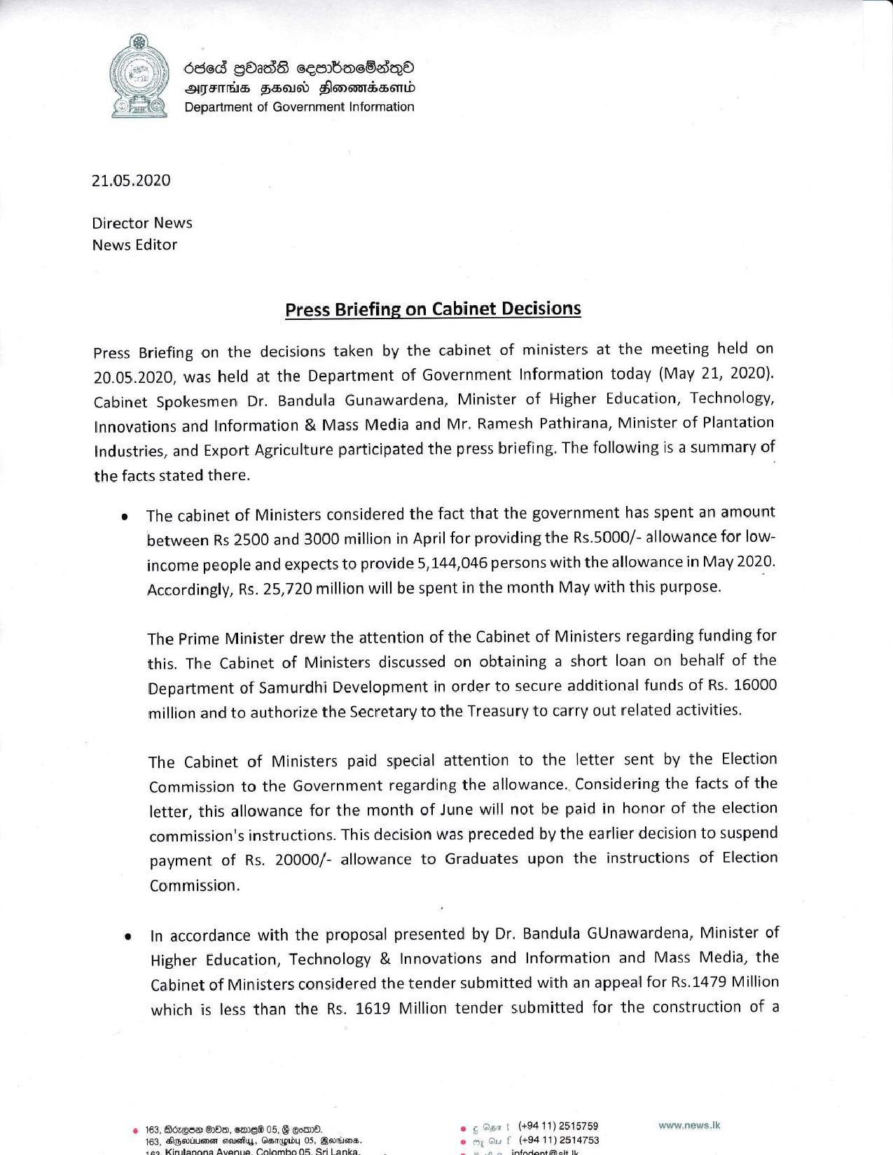 Cabinet Decisions 20.05.2020English compressed page 001