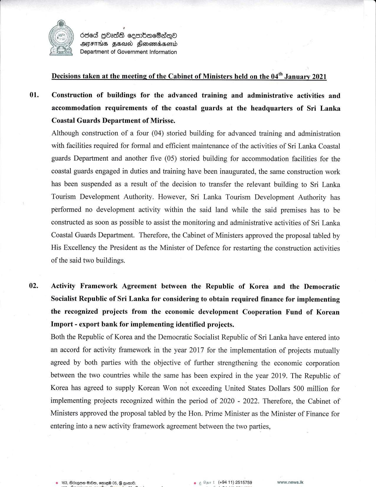 Cabinet Decision on 04.01.2020 English page 001