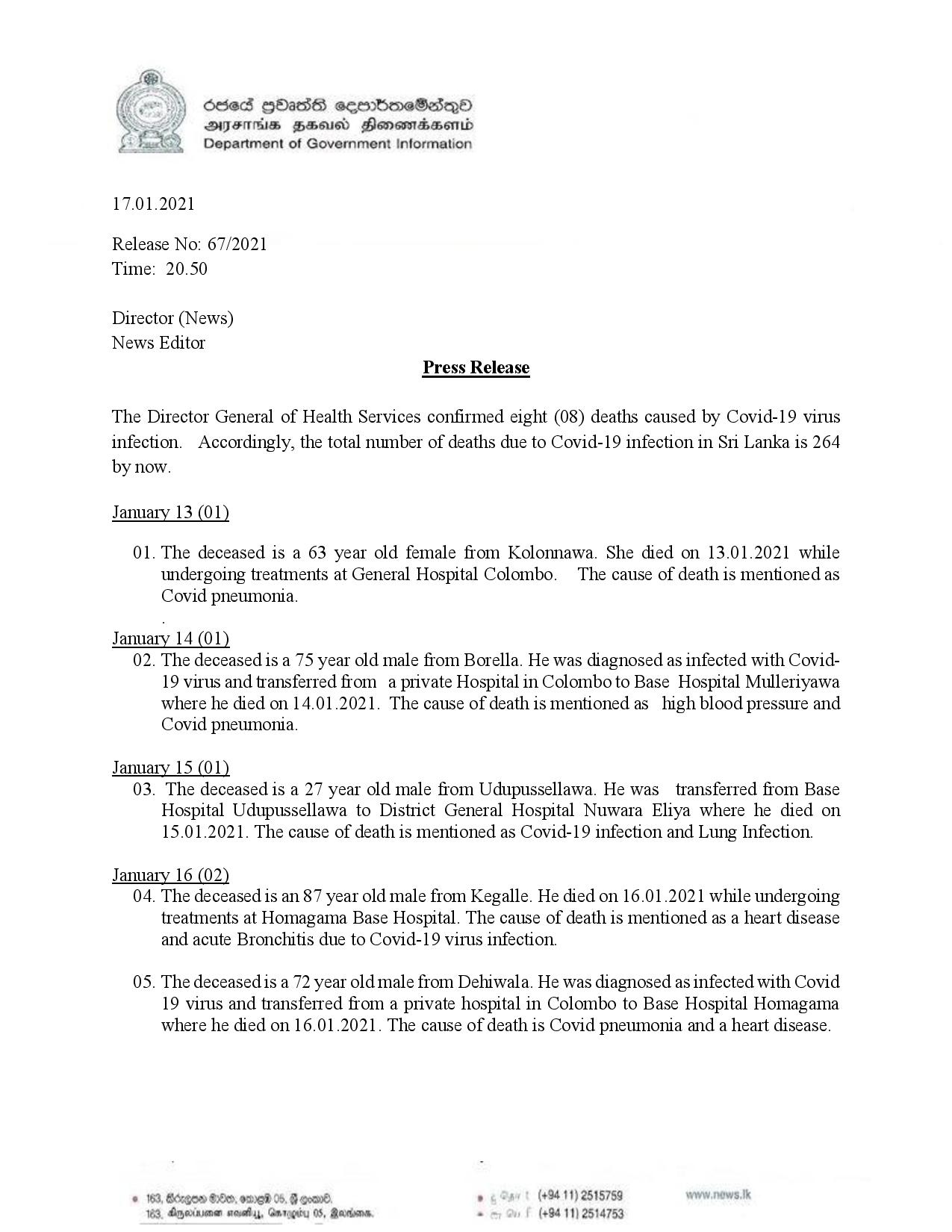 Press Release 67 English page 001
