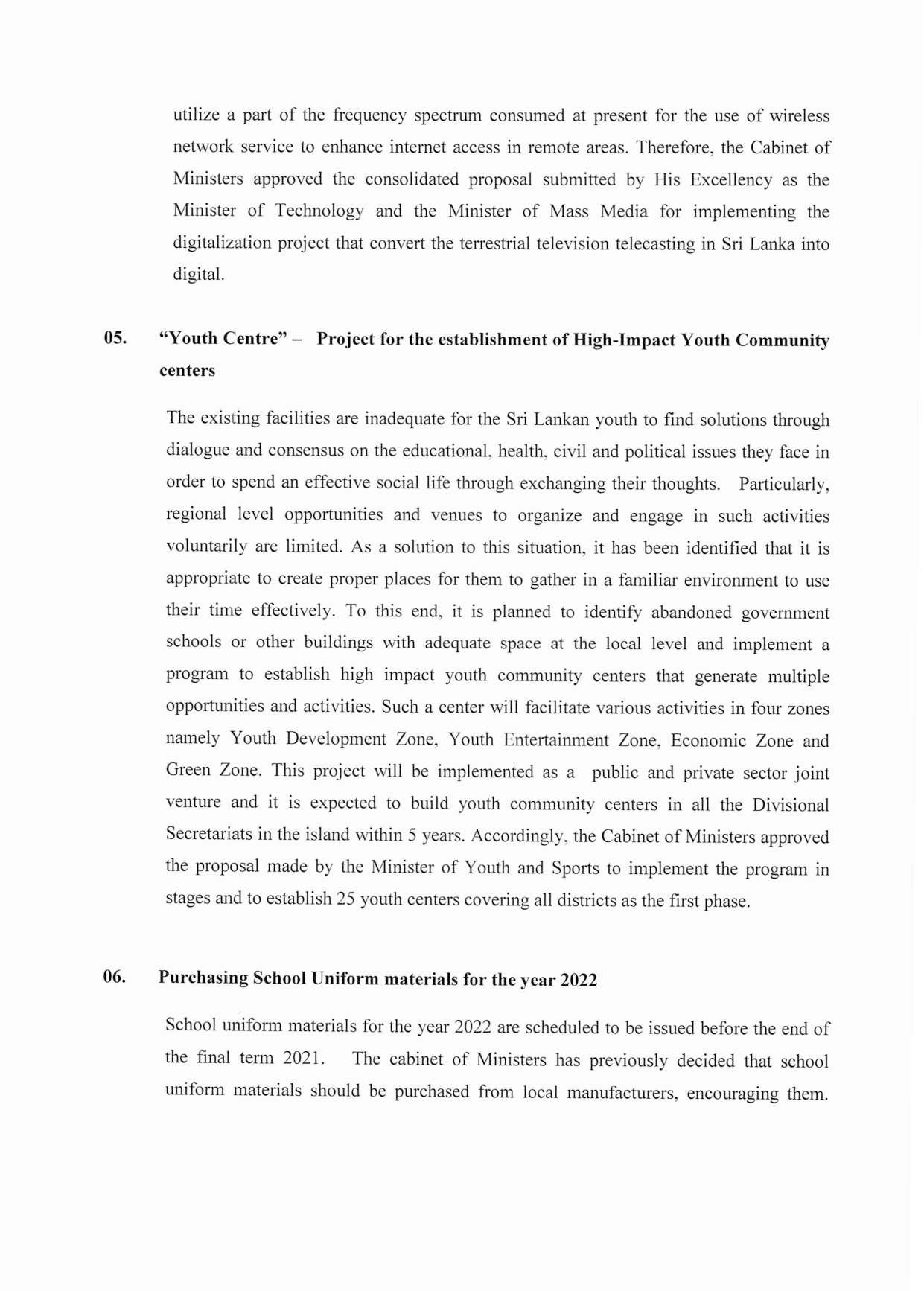 Cabinet Decision on 19.04.2021 English page 003