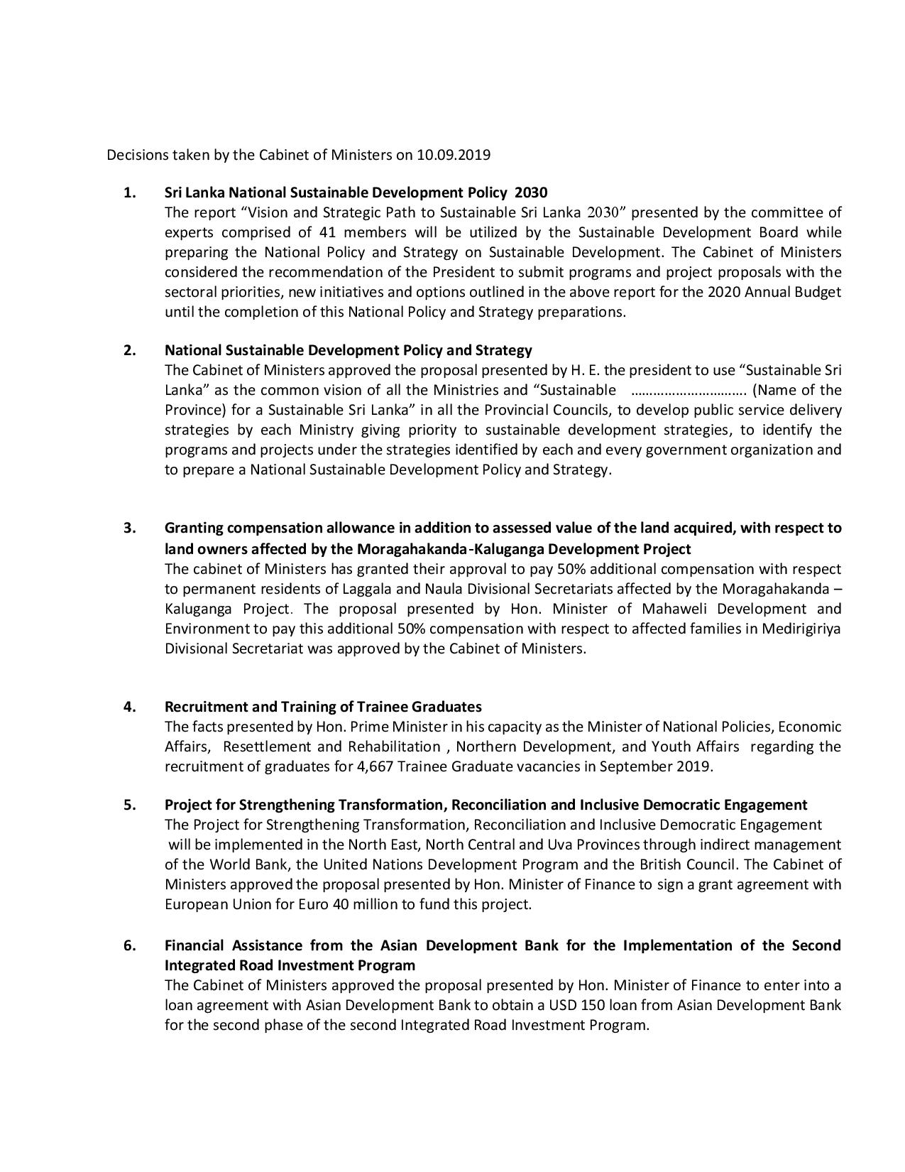 Decisions taken by the Cabinet of Ministers eng 1 converted page 001