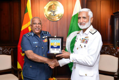 CHIEF OF THE NAVAL STAFF OF THE PAKISTAN NAVY CALLED ON THE CHIEF OF DEFENCE STAFF2017 6