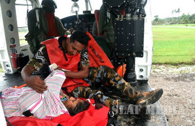 SLAF assists flood victims 2017 5 29