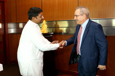 Ambassador of Switzerland meets State Minister2017 7 21