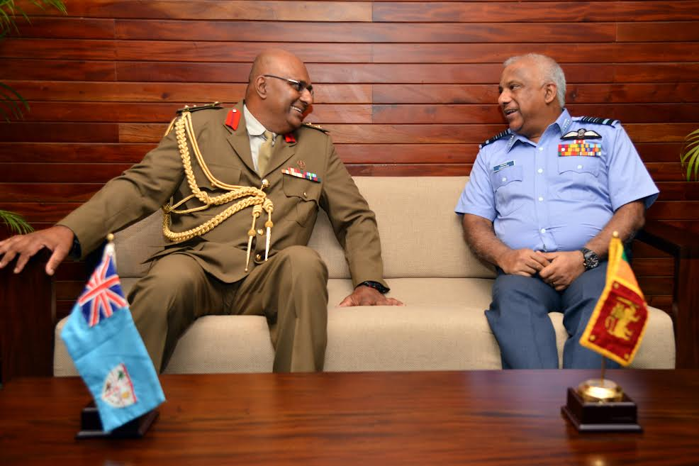 Fijian military delegation calls on the chief of defence staff