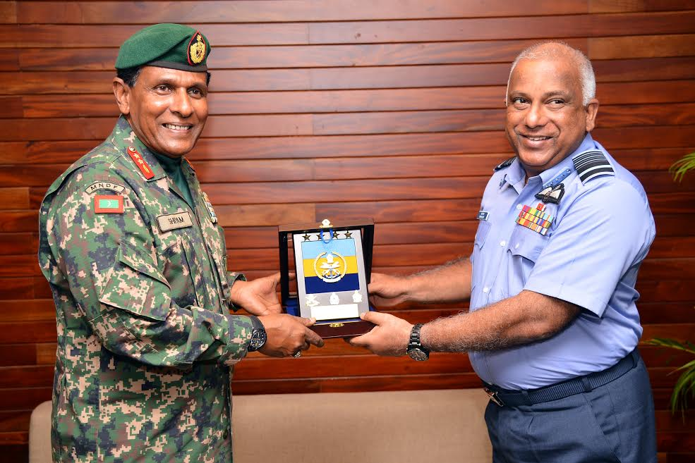 Maldivian defence chief