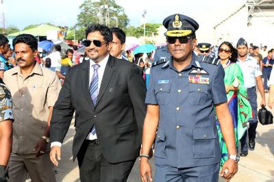 State Minister visits SLAF 66th 2017
