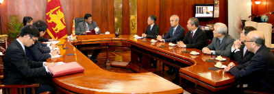 Japanese ambassadors in five SAARC countries meet Foreign Minister 2017 6 28
