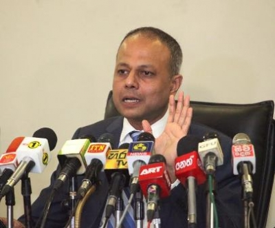 Minister of Law Order and Southern Development Sagala Rathnayake