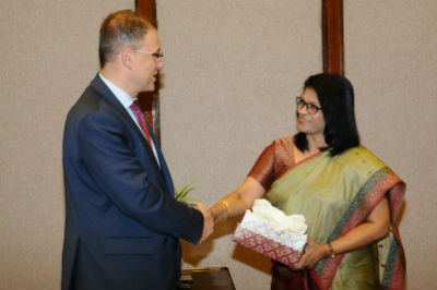 Sri Lanka and the Czech Republic renew bilateral cooperation2017 05 8
