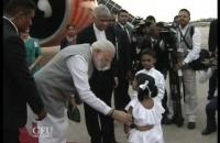 UN Vesak 2017 Hon  Narendra Modi Arrived Bandaranayake international airport