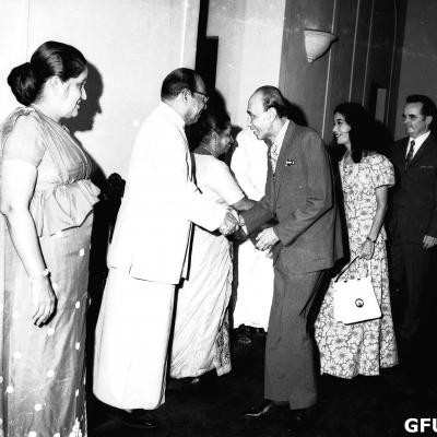 1972-Janarajaya -President  House Dinner