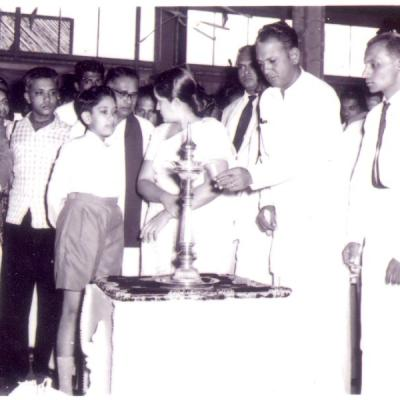 Kantale Suger Factory Opening 1960