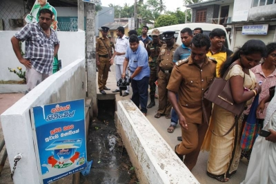 2017-7-15 Dengue Inspection Tour Kotikawaththa